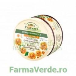 Crema faciala racoritoare hidratanta cu extract de galbenele EP61  Green Pharmacy Cosmetica Verde