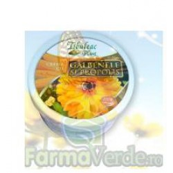 Crema cu Galbenele si Propolis 60 gr Tibuleac Plant Gheorghe
