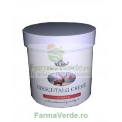 Crema cu grasime de cerb cu Vitamina E 250 ml Senssitive Concept