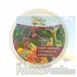 Crema tip unguent cu marul lupului tataneasa si galbenele 60 gr Tibuleac Plant