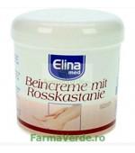 Crema pentru picioare cu extract de Castana salbatica 250ml ELINA MED