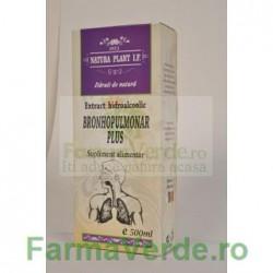Extract Bronhopulmonar Plus Tinctura 500 ml Natura Plant IF