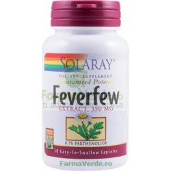 FEVERFEW SPILCUTA 350 mg 30 capsule vegetale Secom