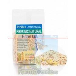 FIBER MIX NATURAL Tarate de Ovaz Fitness 200 gr Pirifan