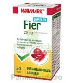 Fier 20 mg COMPLEX Formarea Normala a Sangelui 30 comprimate Walmark