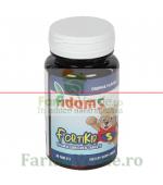 FortiKid Vitamine si Minerale Pentru Copii 30 tablete masticabile Adams Vision
