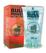 Bull Power delay Gel - Impotriva ejacularii precoce  30 ml Razmed Pharma