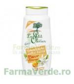 Gel de dus cremos cu extract de flori de portocal FPO36 Le Petit Olivier Cosmetica Verde