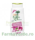 Gel de dus cremos cu extract de trandafir FPO35 Le Petit Olivier Cosmetica Verde
