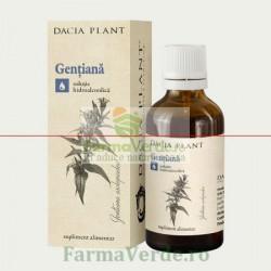 Tinctura de Gentiana 50 ml DaciaPlant