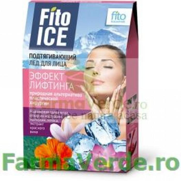 Gheata pentru ten cu efect de lifting FF1 Fitocosmetic Cosmetica Verde