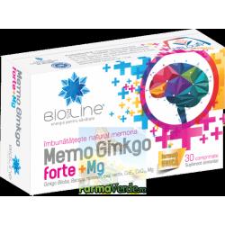 Ginkgo Memo Forte 30 comprimate ACHelcor BioSunLine