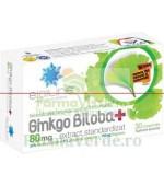 Ginkgo Biloba 80 mg 30 comprimate ACHelcor