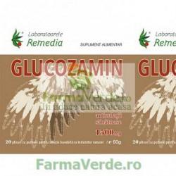 Glucozamin Articulatii Sanatoase 20 plicuri Remedia