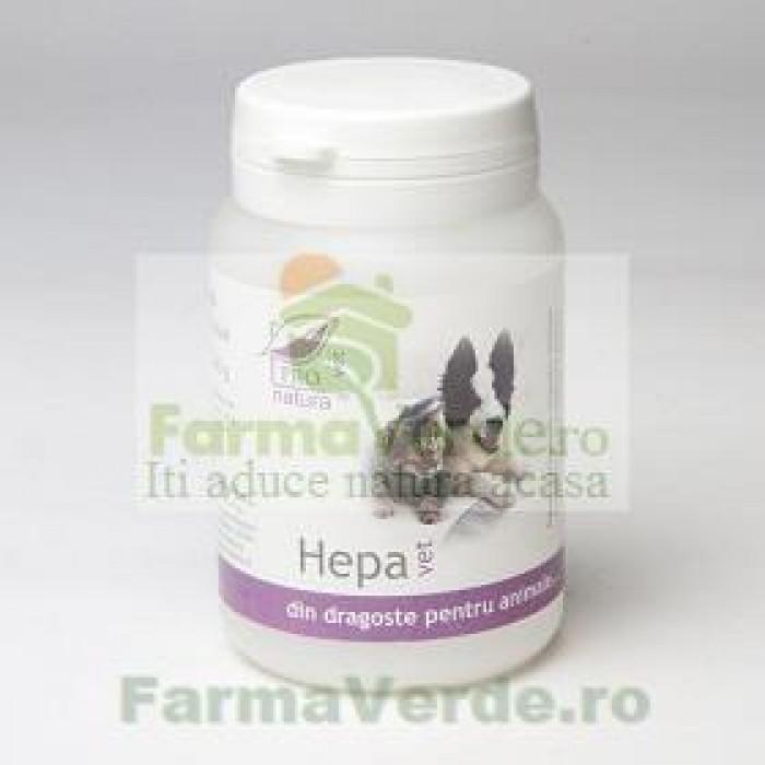 Hepa VET Uz Veterinar (Caini si Pisici) 60 capsule Medica ProNatura