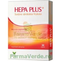Hepa Plus Sanatatea Ficatului 30 capsule Polipharma