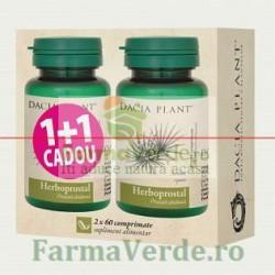 Herboprostal Prostata 1+1 GRATIS PROMOTIE! DaciaPlant