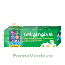 Infant UNO Gel gingival fara zahar pentru dureri de dinti la bebelusi 25 ml Solacium Pharma