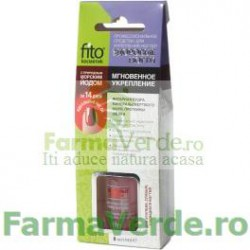 Intaritor instant pentru unghii cu pulbere de chihlimbar FO5 Fito Energia Cosmetica Verde