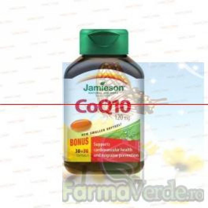 JAMIESON Coenzima Q10 120 mg 60 capsule