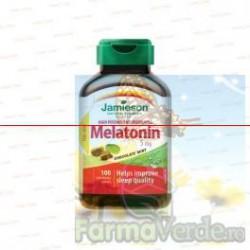 JAMIESON MELATONINA 5 mg 100 comprimate
