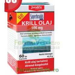 Krill Oil Ulei 500 mg 60 capsule gelatinoase moi JUVAPHARMA Magnacum Med