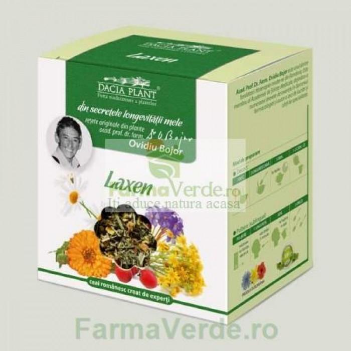 Ceai Laxen Laxativ din Plante Medicinale 50 gr Dacia Plant