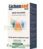 LichenSed Tuse Uscata si Expectoranta 150 ml Abo Pharma