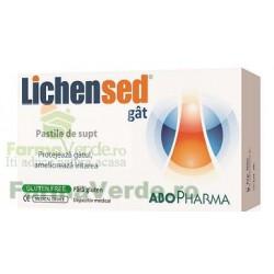 Lichensed pastile pentru gat AboPharma