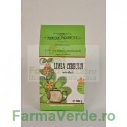 Ceai de Limba Cerbului 80 gr Natura Plant IF
