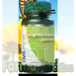 Magneziu Marin Japonez  60 capsule Dvr Pharm