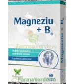Magneziu + B6 30 comprimate Polipharma Polisano