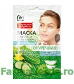 Masca hidratanta cu extract de castravete FF4 Fitocosmetic Cosmetica Verde