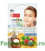 Masca nutritiva faciala cu extract de lapte de capra FF2 Fitocosmetic Cosmetica Verde