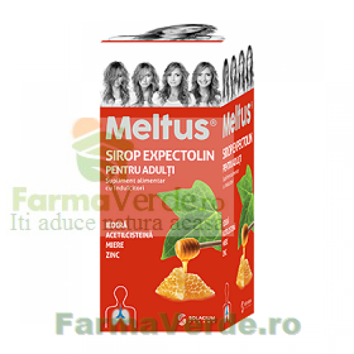 Sirop Tuse Expectolin Adulti Meltus Elixir 100 ml Solacium Pharma