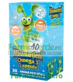 Minimartieni Omega 3 Ulei de Peste 30 capsule Walmark
