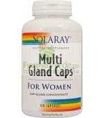 Multi Gland Caps Female Femei 90 capsule Dereglari Hormonale Solaray Secom