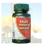 Multimineral natural 60 capsule Dvr Pharm