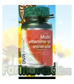 Multivitamine și minerale 60 capsule Dvr Pharm