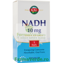 NADH 10 mg 30 tablete filmate Kal Secom