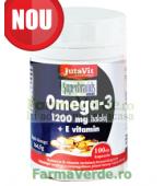 OMEGA 3 ULEI DE PEŞTE 1200 mg +VITAMINA E 100 capsule Jutavit Magnacum Med