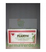 Plantic Dropsuri din Plante Medicinale cu Aroma de Capsuni Fara Zahar 12 dropsuri