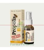 Propolis tinctura fara alcool spray 20 ml DaciaPlant
