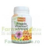 Benefe Propolis Vitamina C cu Echinacea 30 comprimate Alevia