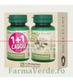Reglator al Tensiunii - Herbotensin 60 Comprimate 1+1 GRATIS! DaciaPlant PROMOTIE!