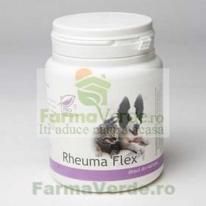 Rheuma Flex Vet Uz Veterinar (Caini si Pisici) 100 capsule Medica ProNatura