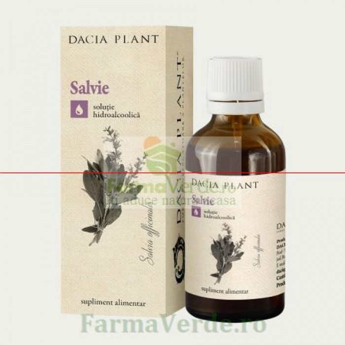 Tinctura de Salvie 50 ml DaciaPlant