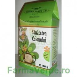 Ceai Sanatatea Colonului 100 gr Natura Plant IF