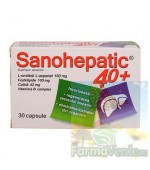 Sanohepatic 40+ 30 capsule Natur Produkt Zdrovit