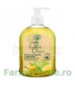 Sapun lichid de Marsilia pur cu parfum de verbina si lamaie 300 ml FPO22 Le Petit Olivier